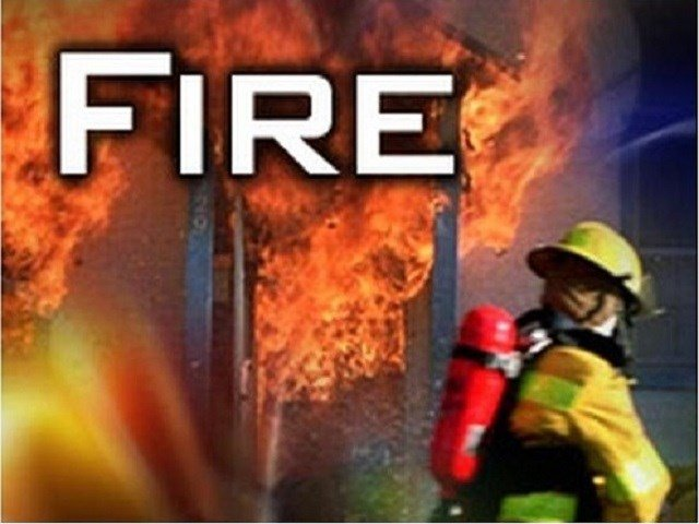 One sent to hospital following apartment fire