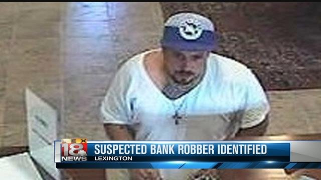 Fifth Third Bank robbery suspect Kelly Ellsworth Cox