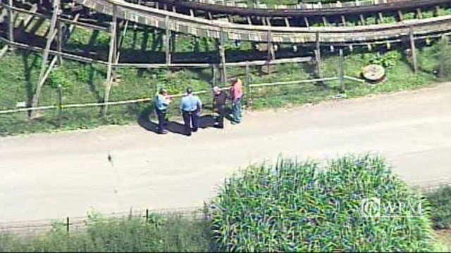 Boy falls from coaster at Pennsylvania amusement park