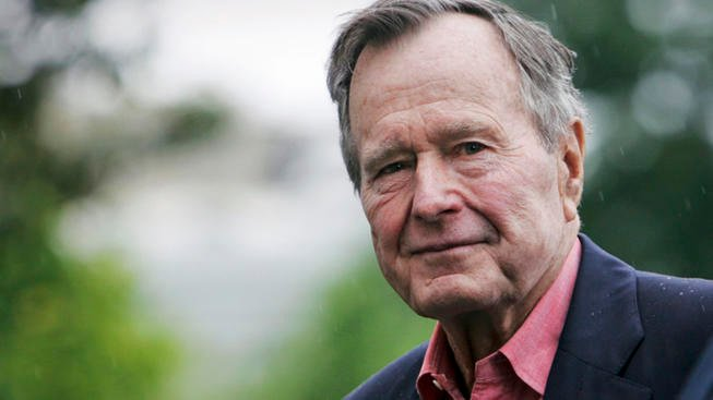 George HW Bush Longest-Living US President in History