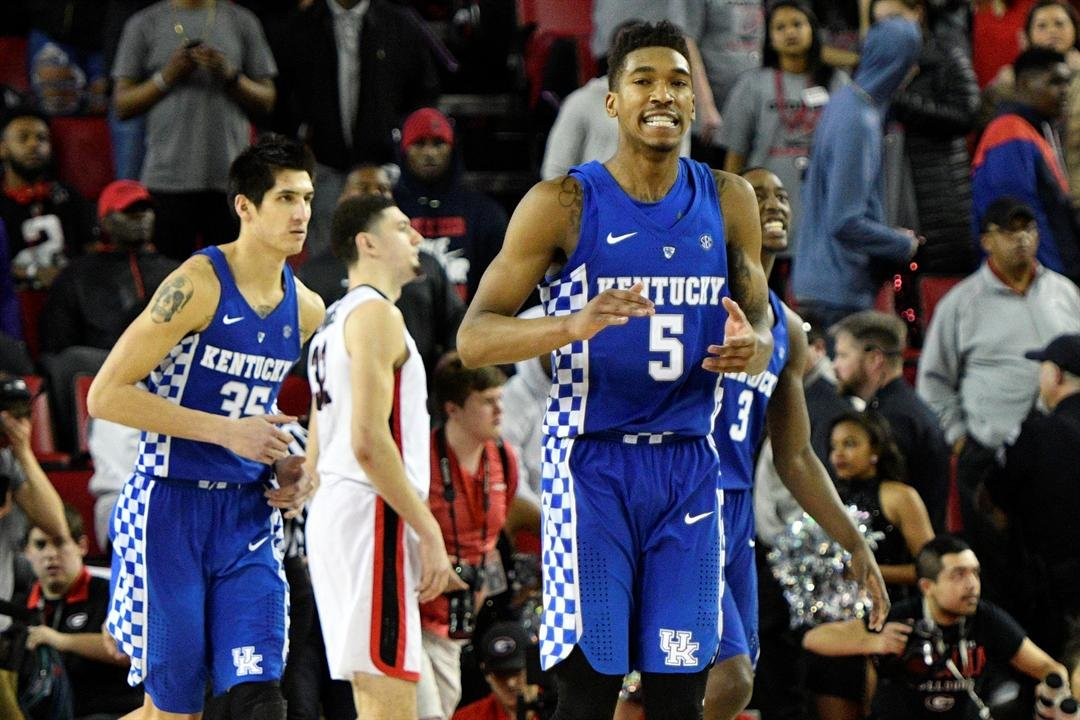Georgia star Yante Maten hurt against No. 13 Kentucky