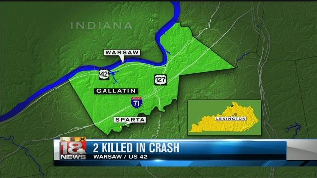 Man, teen killed in 2-vehicle crash in Gallatin County