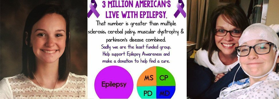 Champions of Change Lyndsey Crunk, Epilepsy