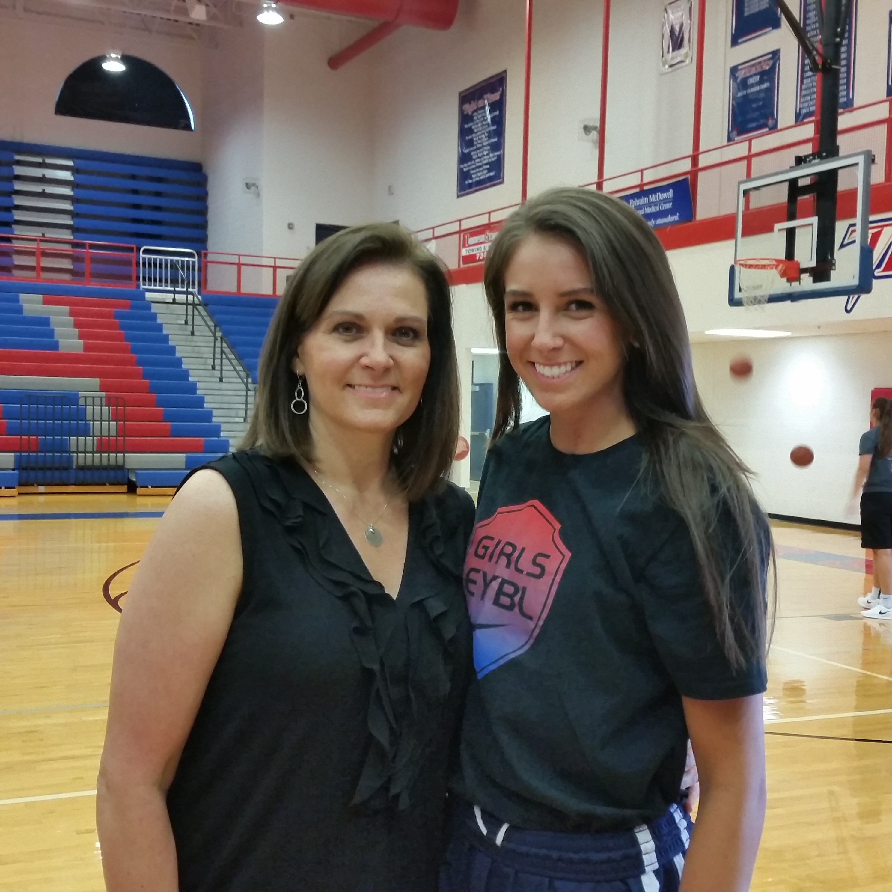 Blair Green and her mother, Debbie Green. (Larry Vaught Photo)