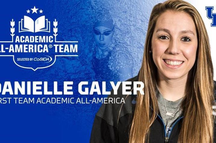 Champions of Change - Danielle Galyer, University of Kentucky swimmer.