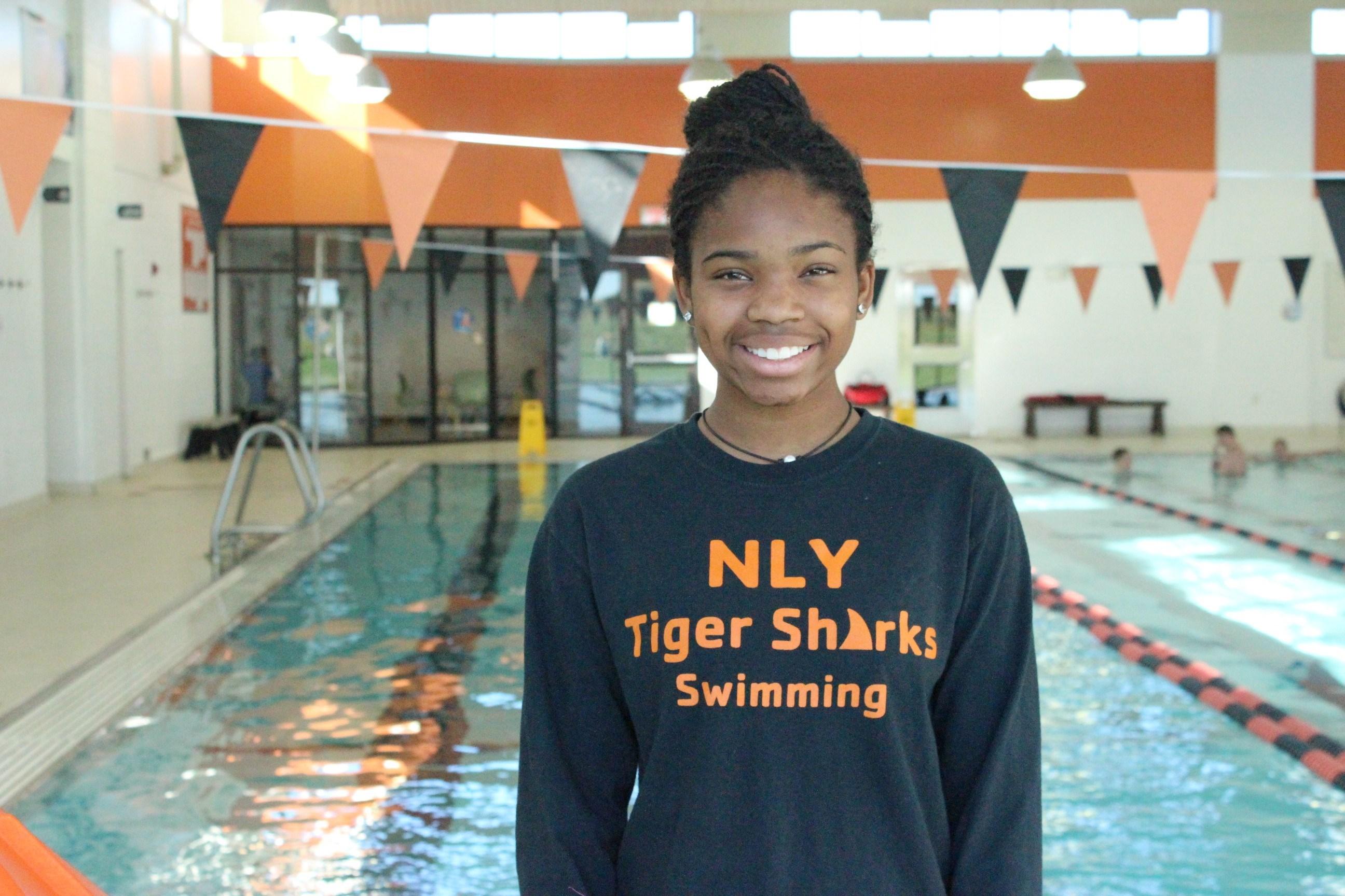 Champions of Change - Amina.El.Amin, YMCA Swimmer