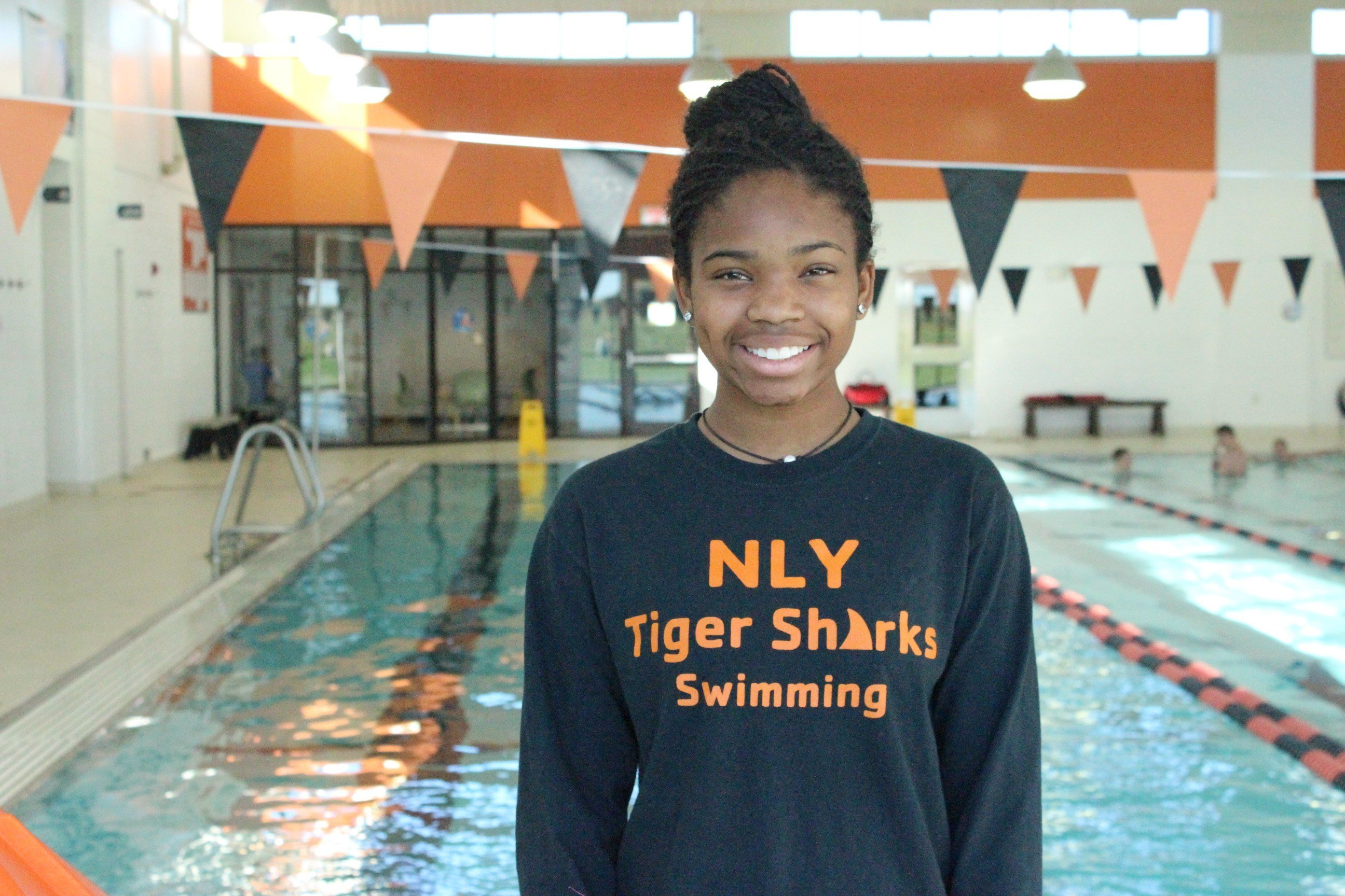 Champions of Change - Amina.El.Amin, YMCA Swimmer