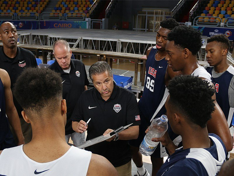 Auburn's Austin Wiley & USA basketball defeat Iran 108-48