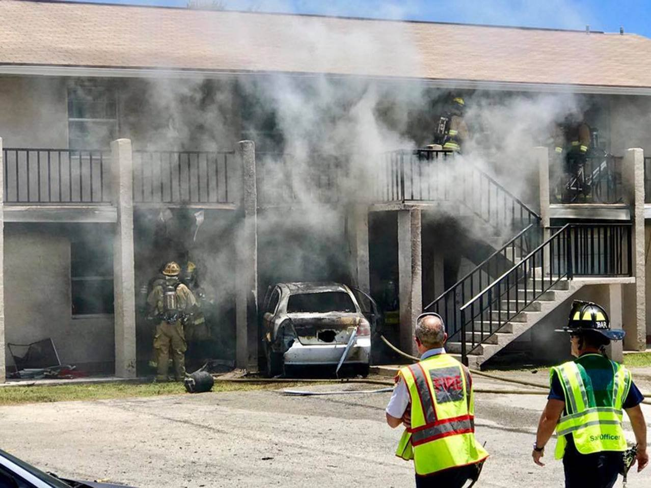Florida Man Loaded Propane Tanks in Car, Drove Into Building