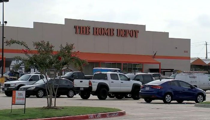 A Texas veteran gets fired from his job at Home Depot