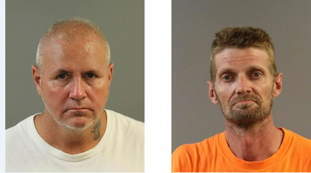Cecil Jones, left. Jason Miller, right.