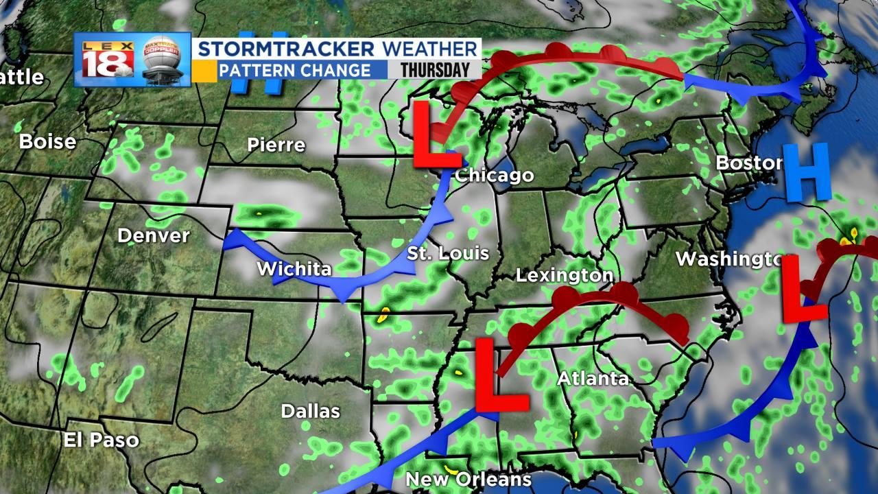 Heavy rain moves through Chickasha area Thursday