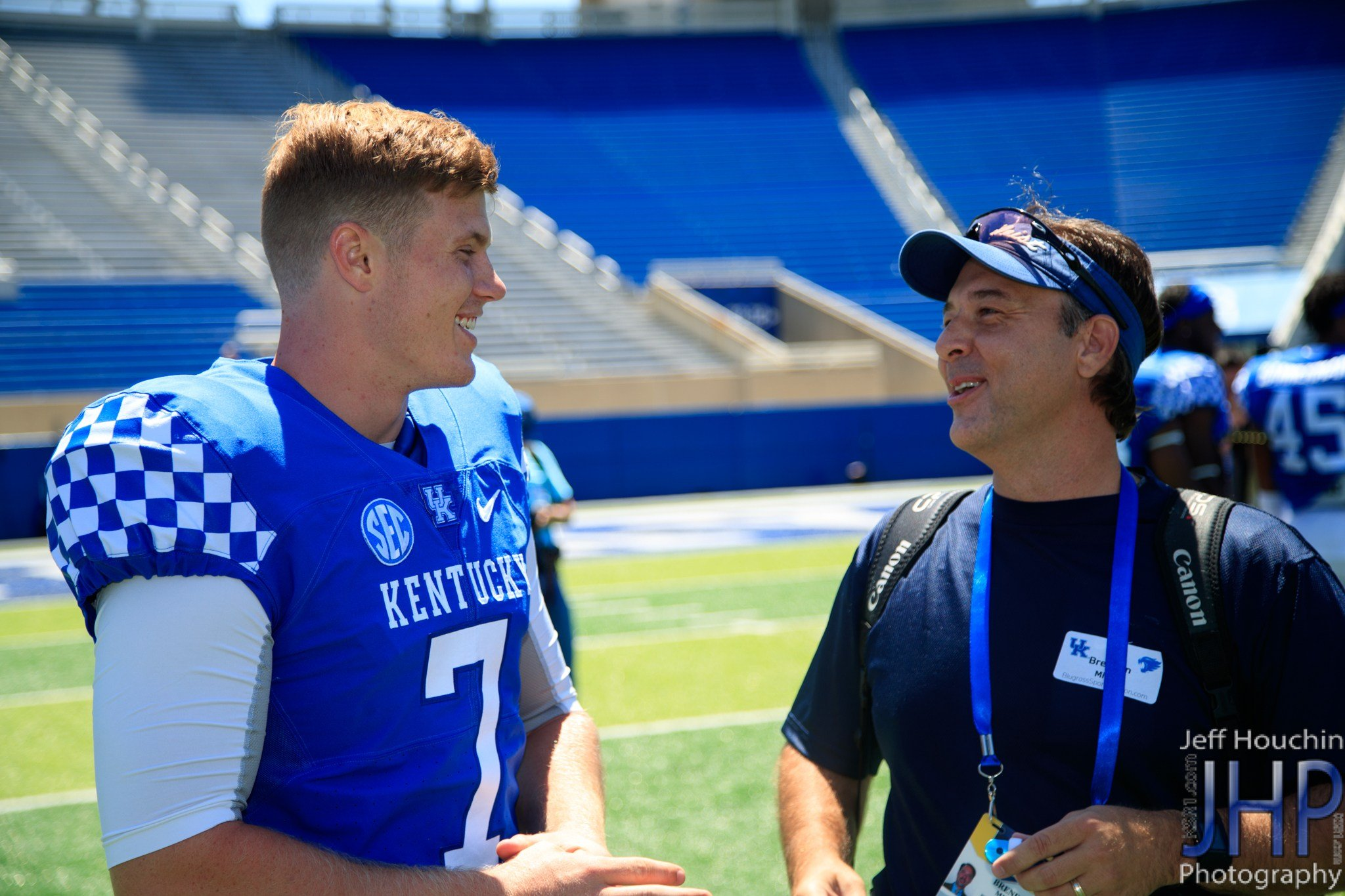 Drew Barker is healthy again and also already has his undergraduate degree. (Jeff Houchin Photo)