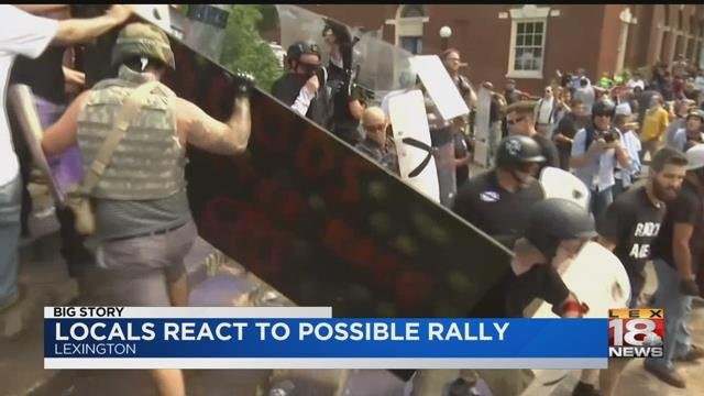 Sticking It To The Man: 'No Fascist USA' Protesters Trash Confederate Monument