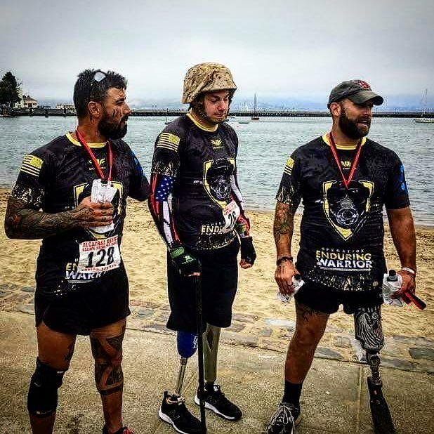 Matt Bradford competed in the Escape from Alcatraz last weekend before flying back to Kentucky to speak at a high school football bowl dinner the next night.