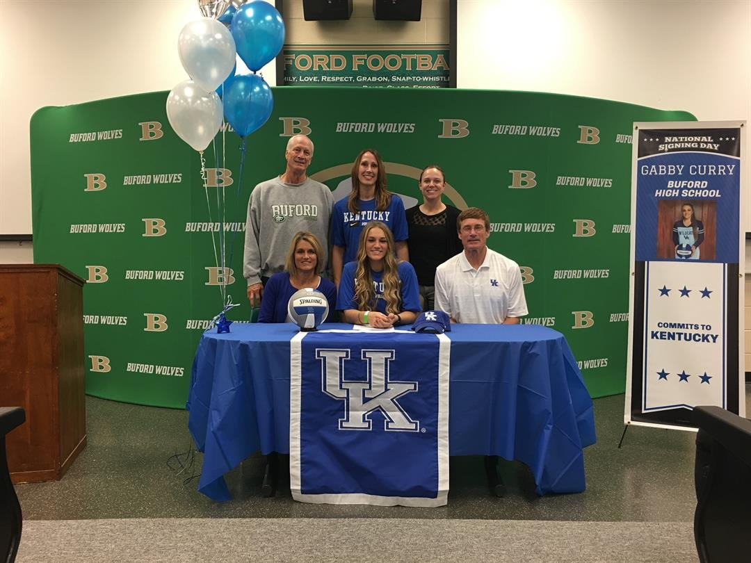 All-American freshman Gabby Curry says even when she visited other schools, she would think about UK.