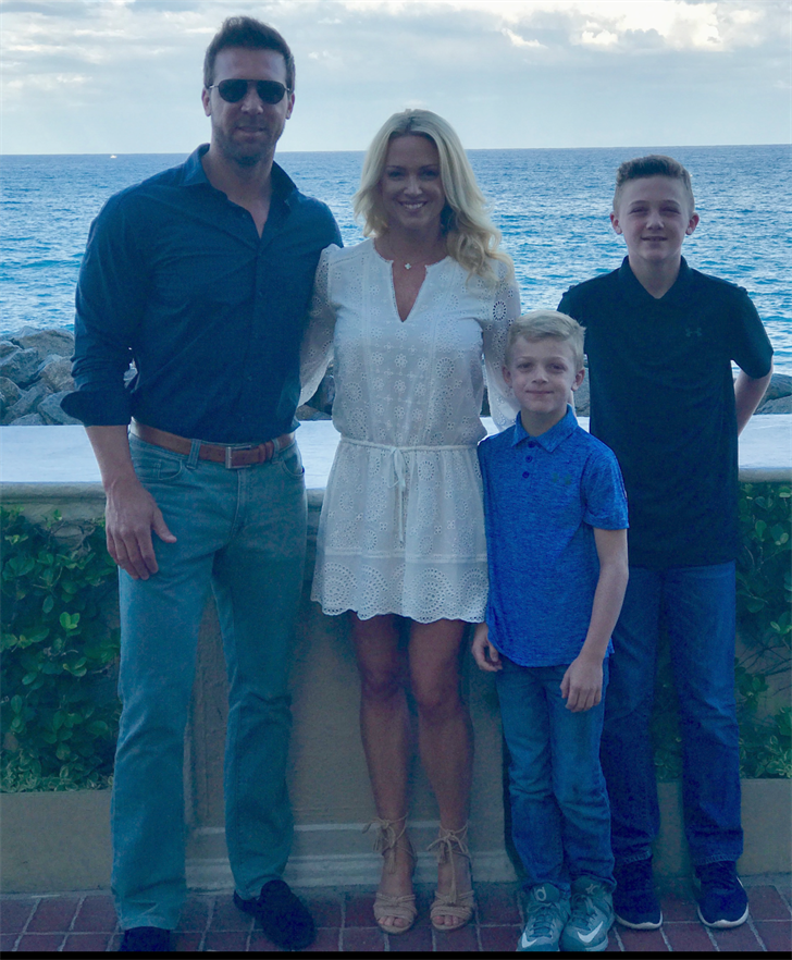 Tim Couch enjoys life in Lexington with his wife and two sons, but he also continues to keep a close eye on the UK football program.