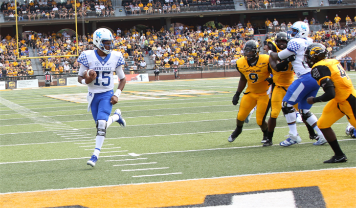 Quarterback Stephen Johnson just does one thing -- win games. (Vicky Graff Photo)