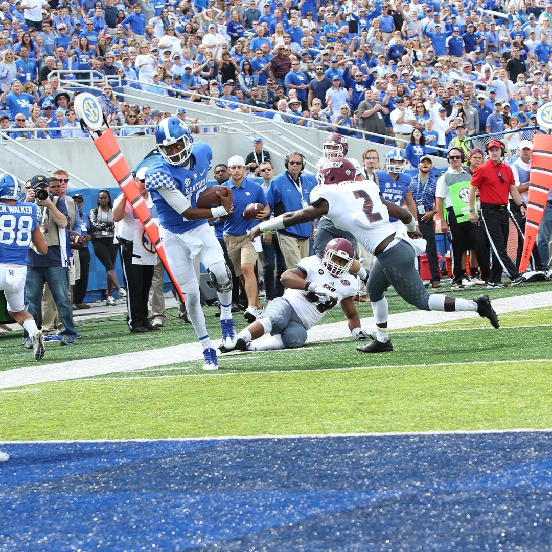 Stephen Johnson ran for a touchdown and threw for another one Saturday. (Larry Vaught Photo)