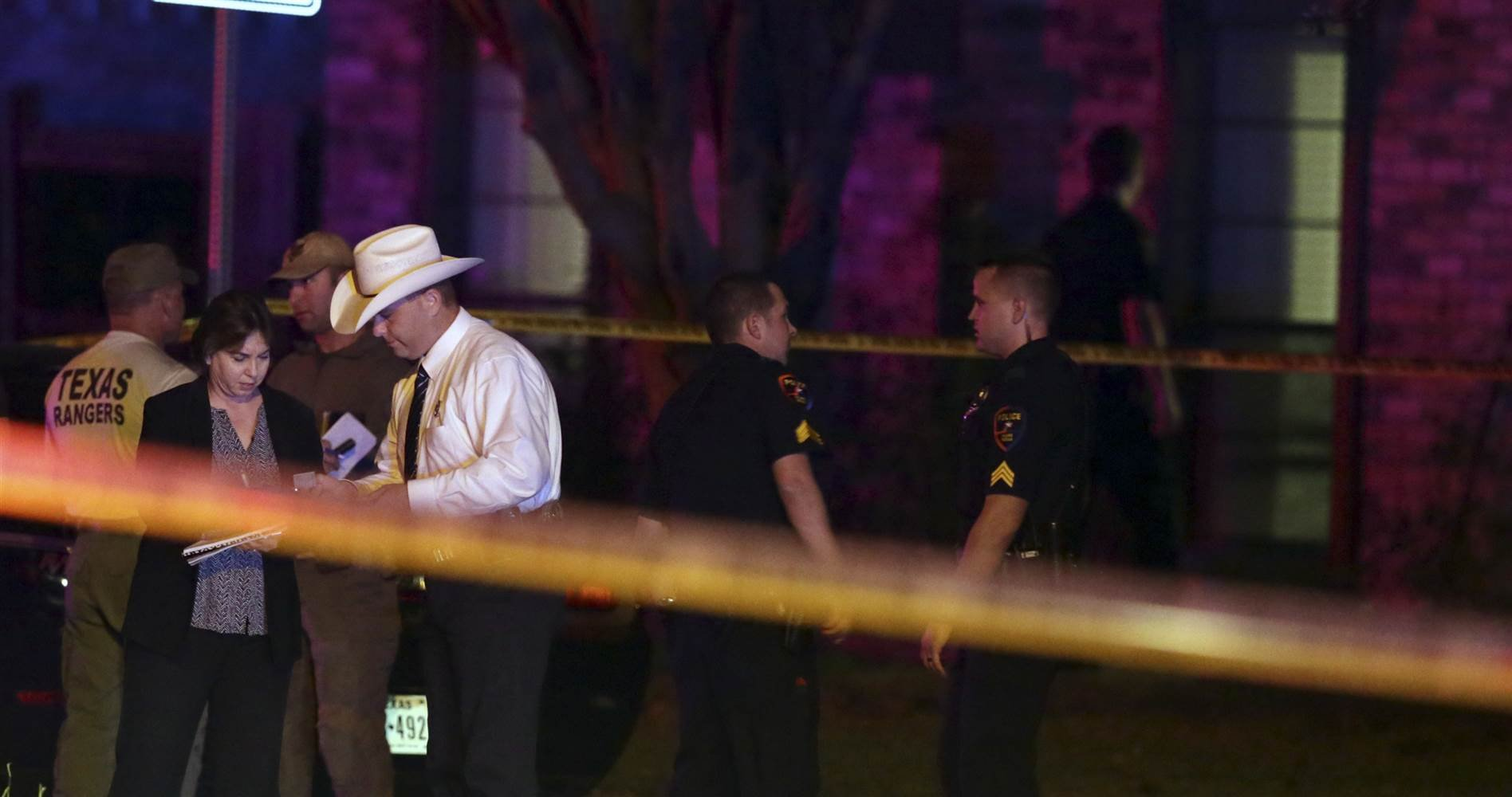 Texas shooting: eight killed, including gunman, at house party