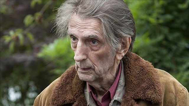 Harry Dean Stanton as Carl Rodd in a scene from the Showtime series, 'Twin Peaks'  (Showtime)