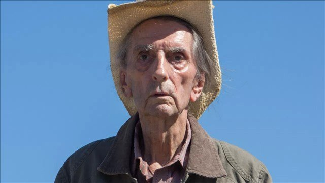 Harry Dean Stanton in a scene from the 2017 film, 'Lucky' (Magnolia Pictures)