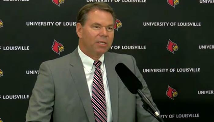 UofL names Vince Tyra acting athletic director