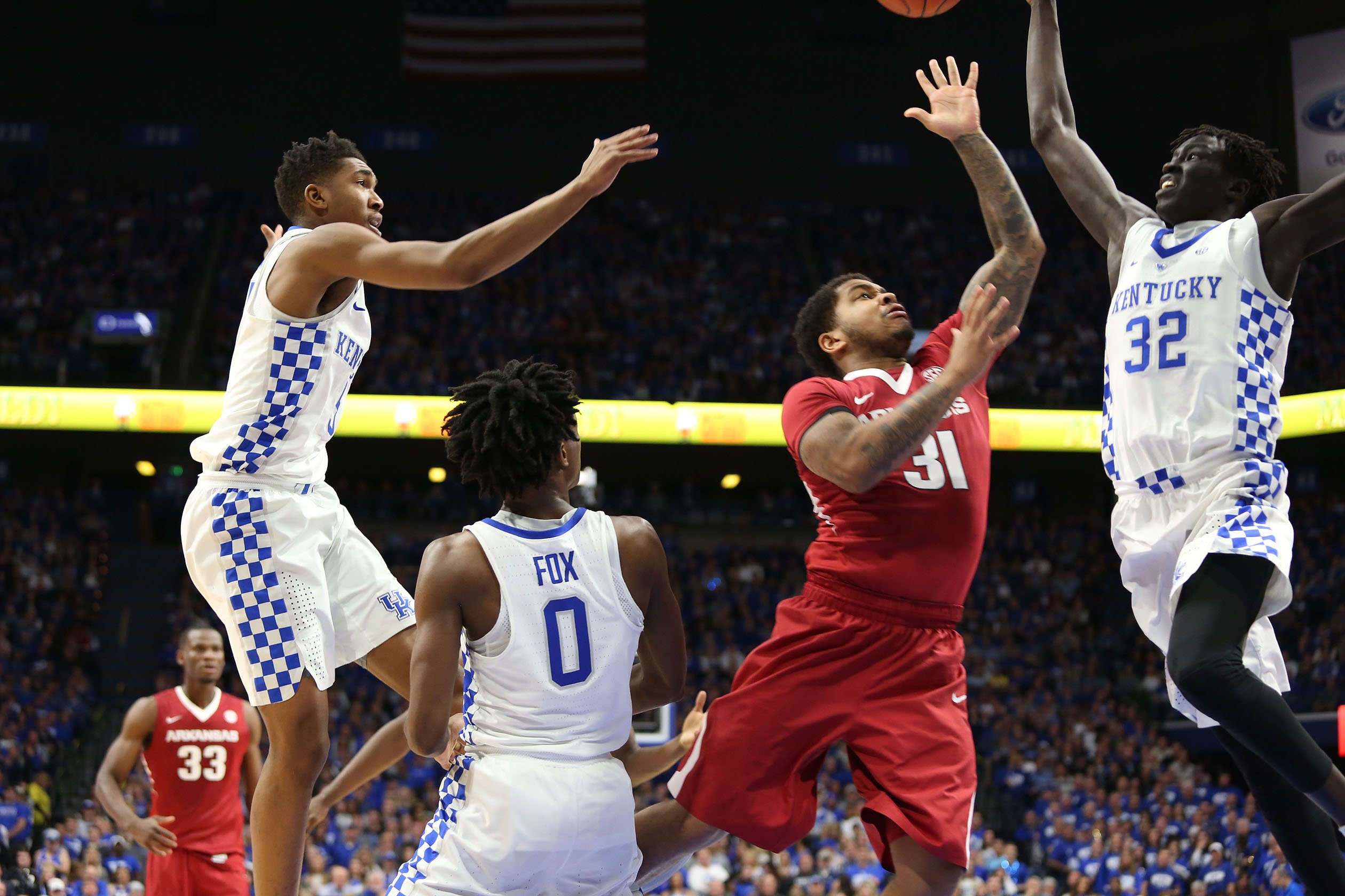 Wenyen Gabriel showed flashes of brilliance last year.  Now he wants to be more consistent. (Vicky Graff Photo)
