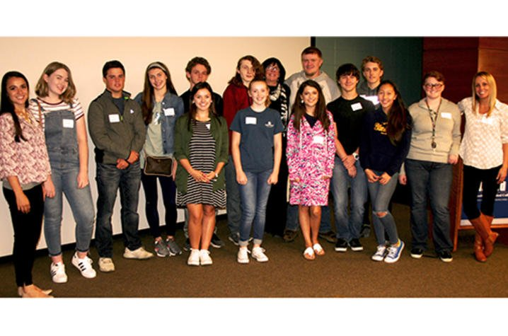 Participants in the Tobacco-free Ambassadors Partnership (TAP) project