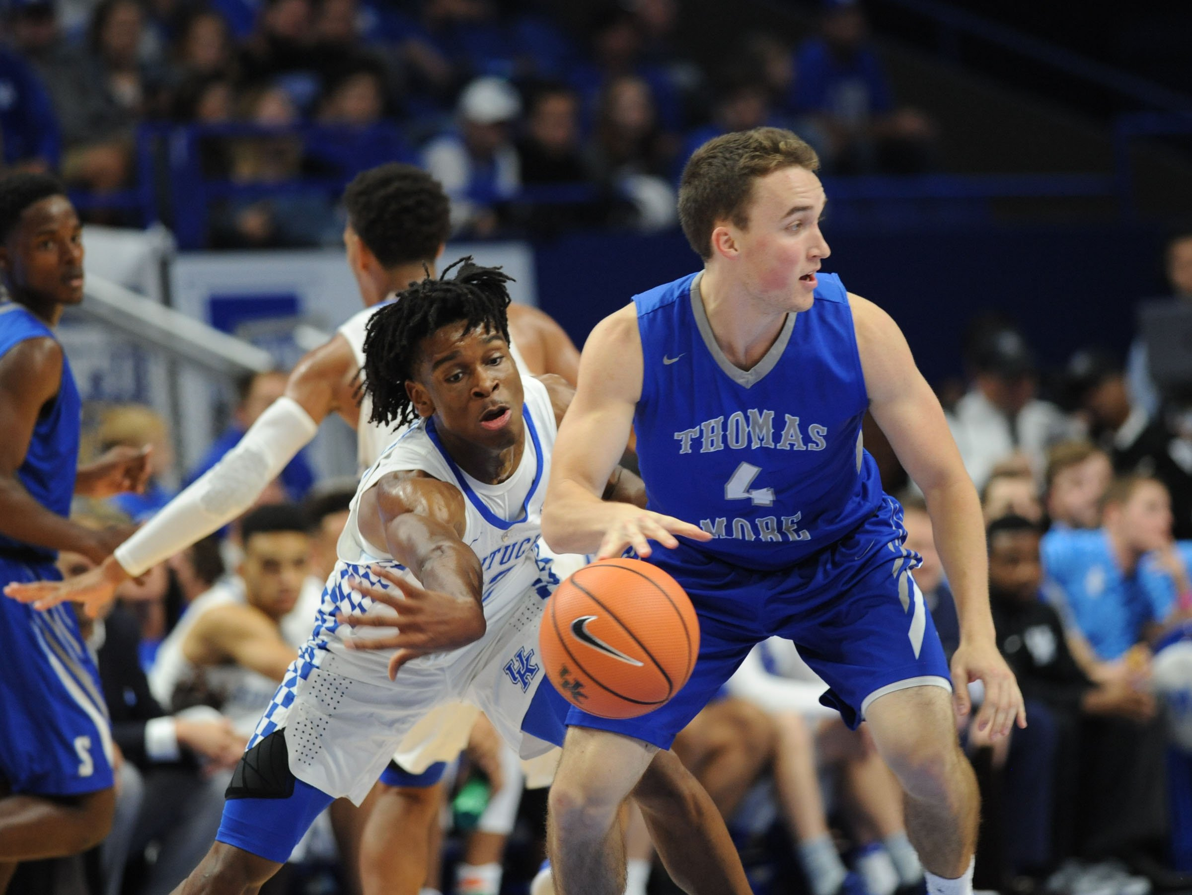 Shai Gilgeous-Alexander is a long defender who says he can play four positions. (Vicky Graff Photo)