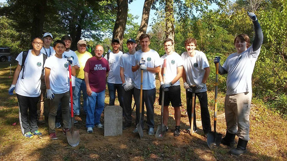 Centre students leave lasting impact on local cemetery