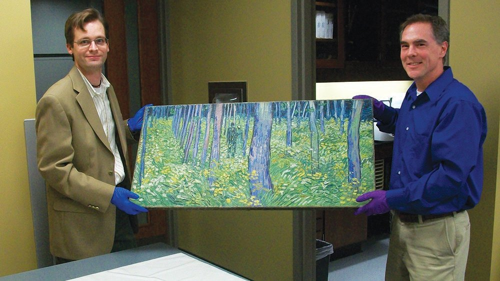 Centre Chemistry Alums Rediscover Van Gogh in the Pink