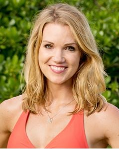 "Murray State alumna and legacy, Jessica Johnston, has been heating up the competition on the 35th season of CBS's Emmy-award winning series, ""Survivor."" (Photo courtesy of CBS)"