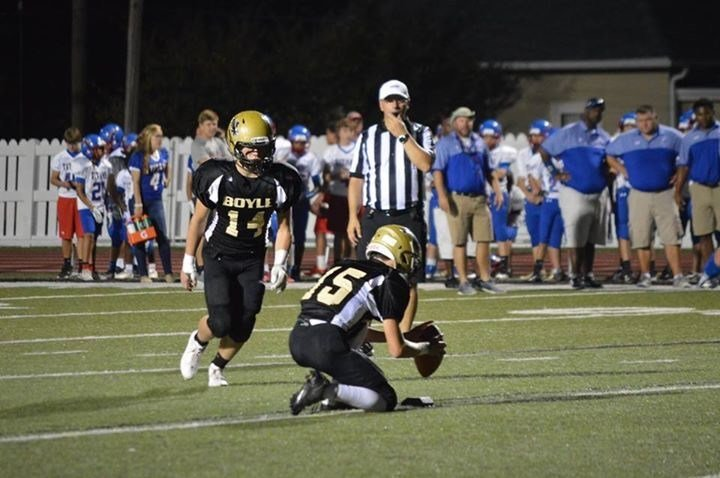 Eighth-grader Jackson Smith made a 51-yard field goal in the state middle school title game.