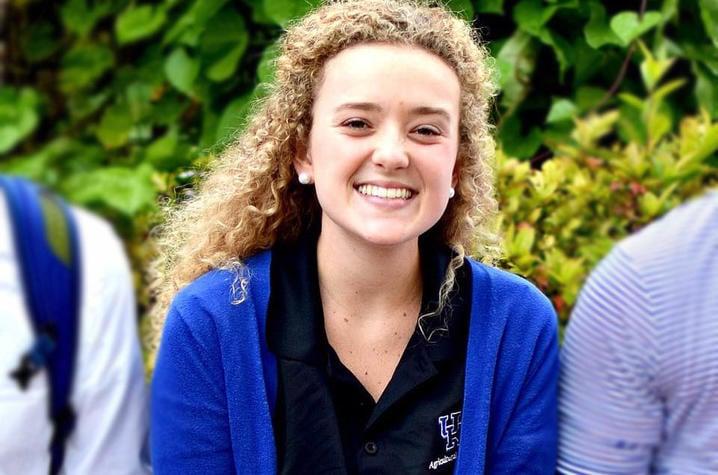 Gracie Furnish. Photo courtesy of UK Community and Leadership Development