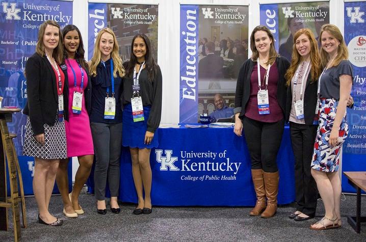 (Left to right) Allison Merritt, Olivia Ramirez, Madison Shore, Kyra Patel, Jacqueline Seals, Maria Politis and Honour McDaniel.