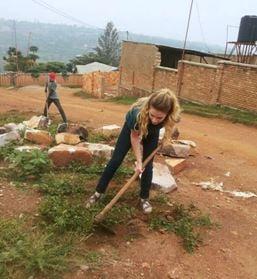 Riley Bresnahan, Transylvania senior studies reconciliation process in post-genocide Rwanda
