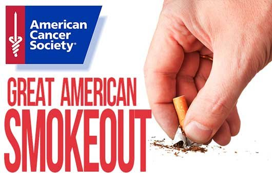 People urged to quit smoking during Great American Smokeout