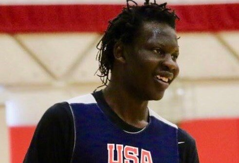 Bol Bol, the top center in the 2018 recruiting class, will play games at the Marshall County Hoop Fest Dec. 1 and Dec. 2. (USA Basketball Photo)