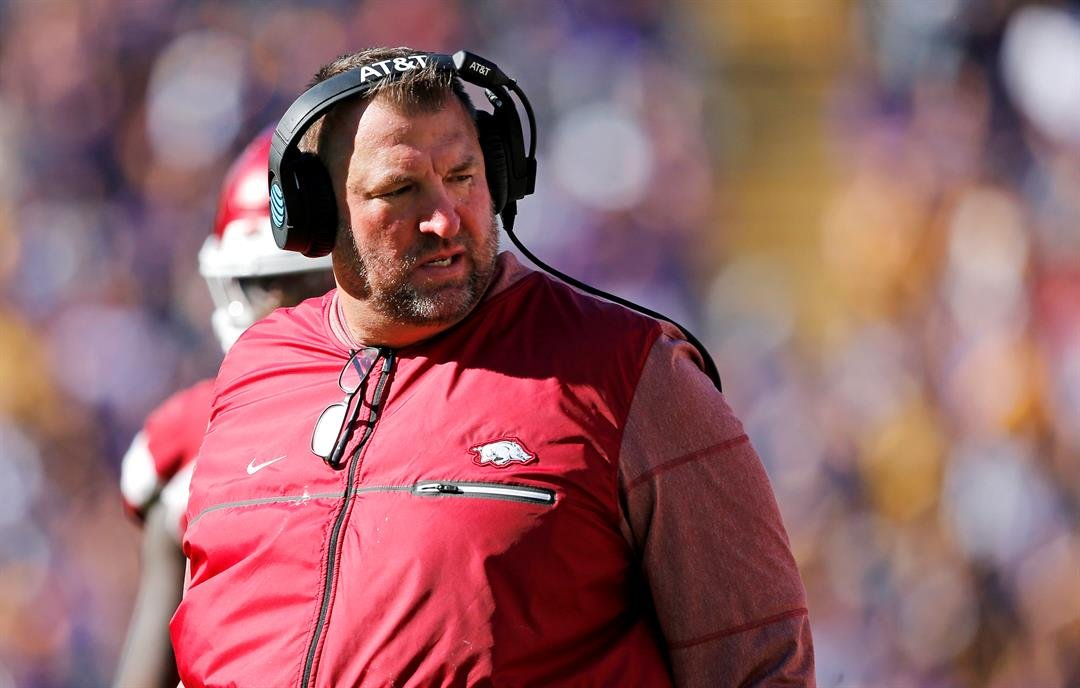 Bielema Fired As Razorback Head Football Coach After 5 Seasons