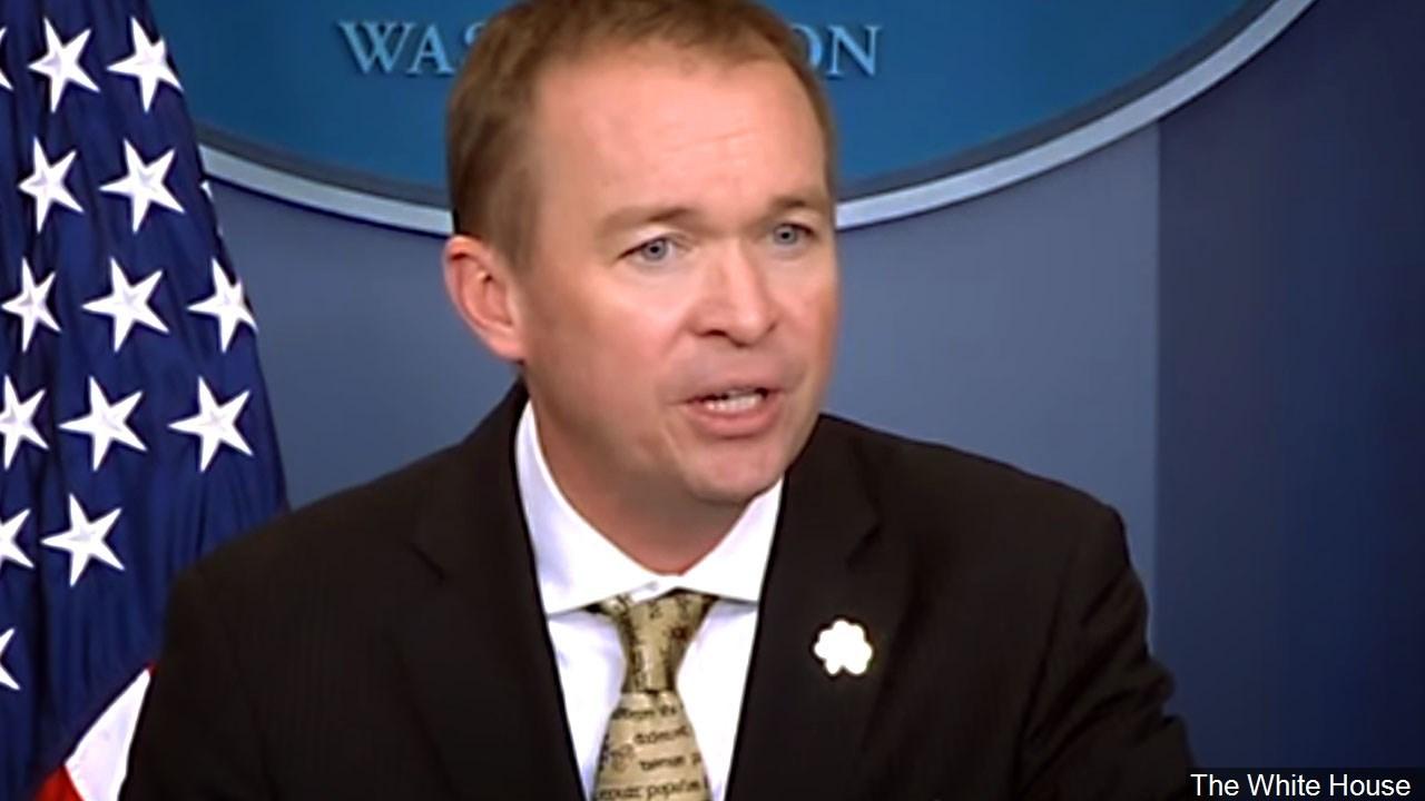 Trump names interim consumer agency head, likely sparking showdown