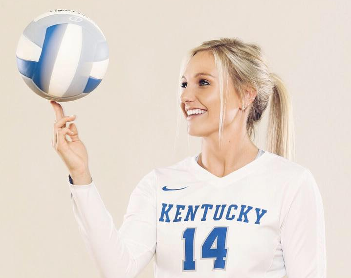 Harper Hempel says playing for Kentucky is a dream come true. (UK Athletics Photo)