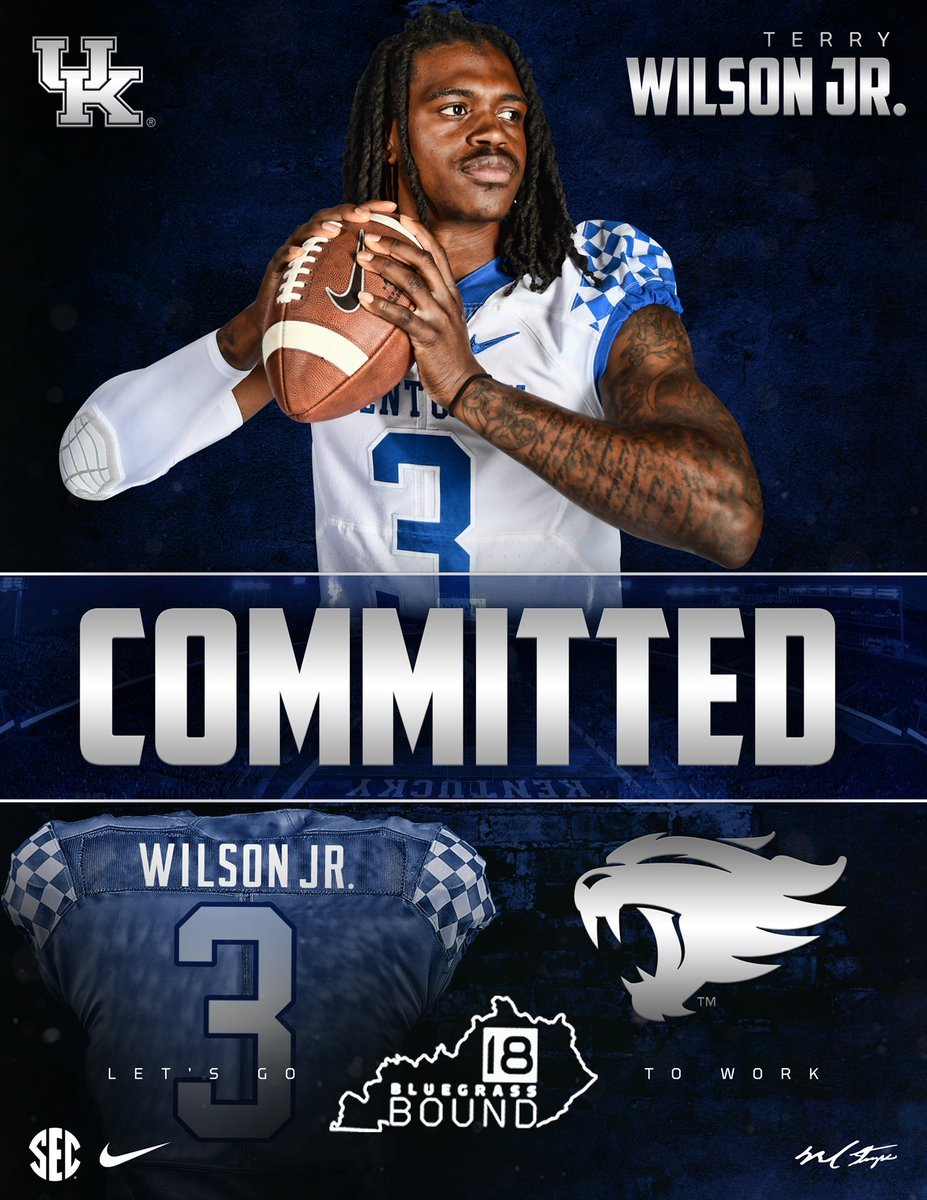 JUCO QB Terry Wilson commits to UK