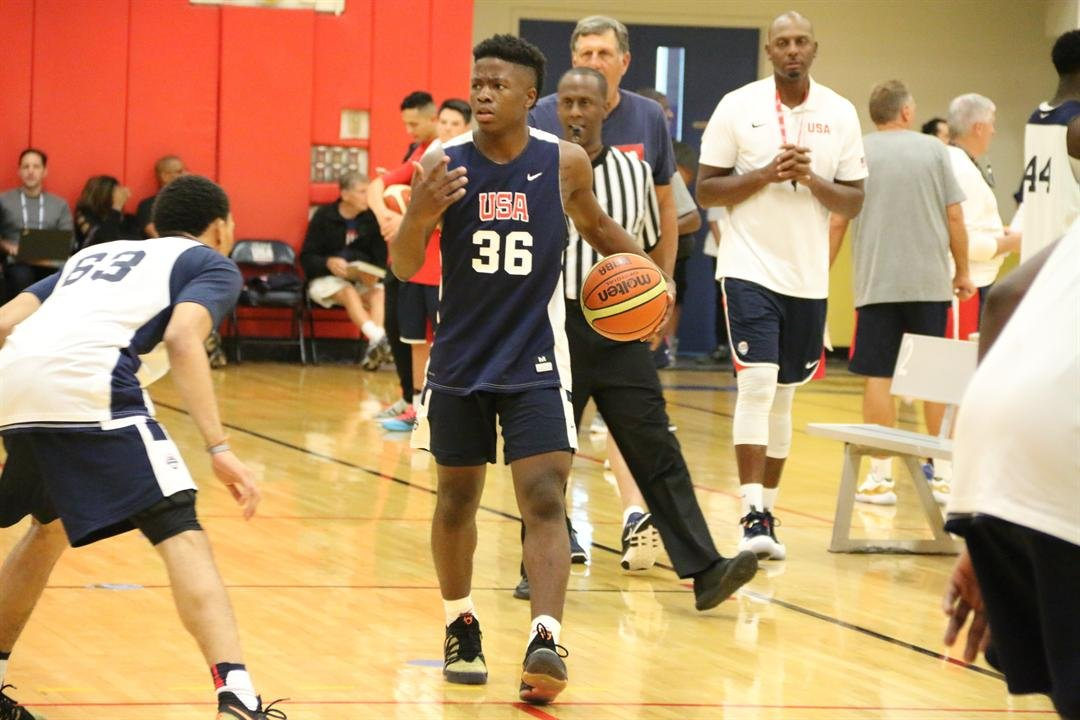 Zion Harmon will be part of a Grind Session clinic Saturday. (USA Basketball Photo)