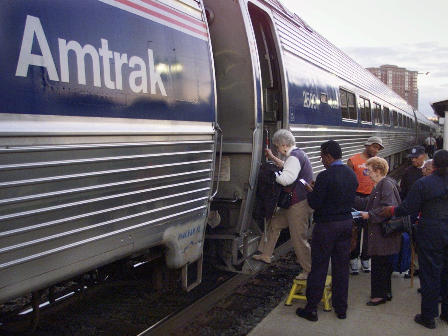 Alleged white supremacist accused of terrorism in Amtrak incident