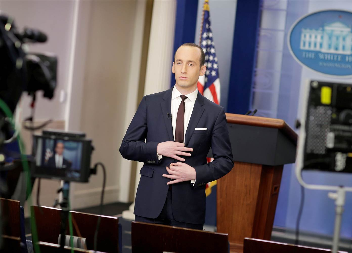 Jake Tapper cuts off Duke alum Stephen Miller in interview