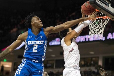 Jarred Vanderbilt will not participate in the NBA Draft Combine