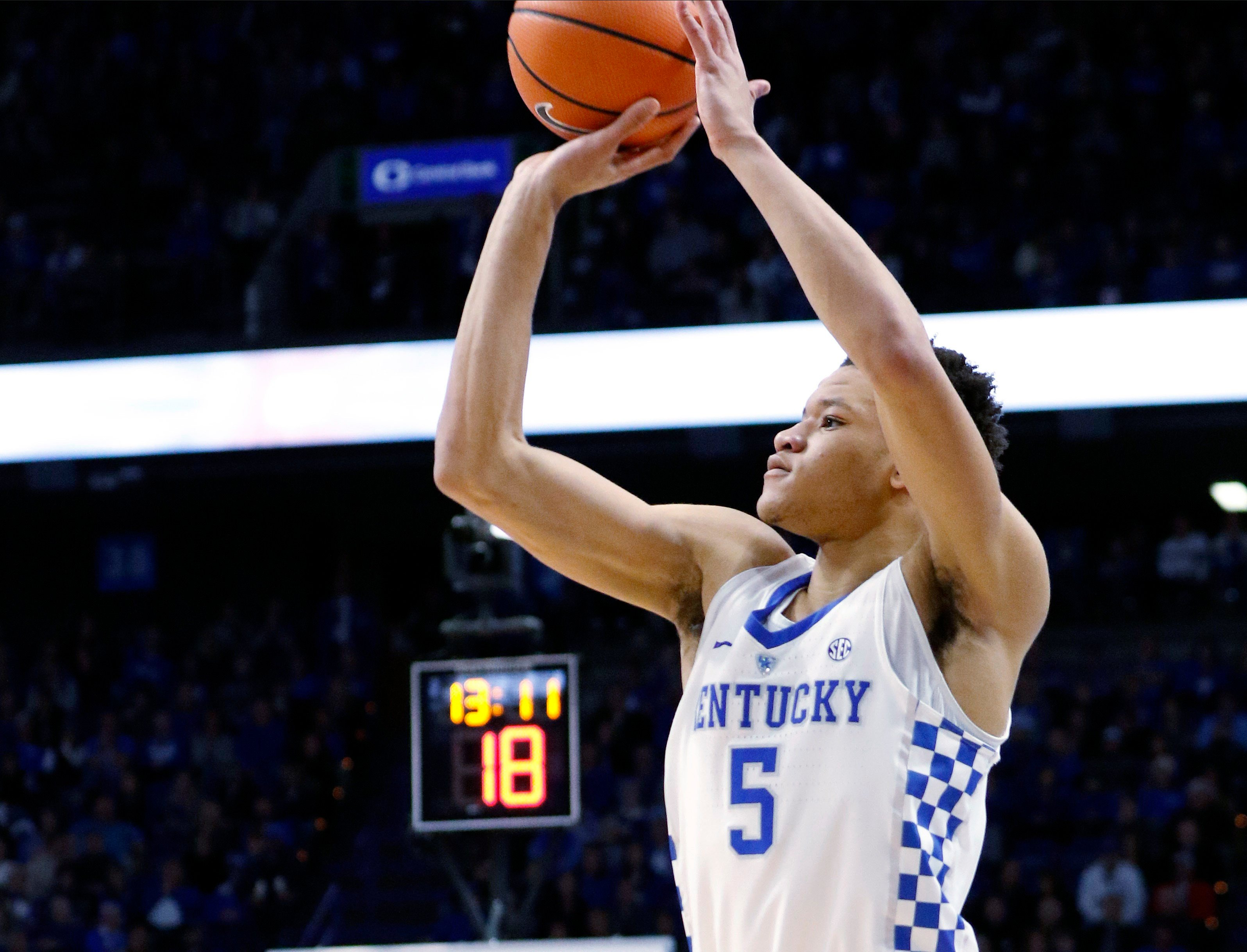 Freshman trio powers Kentucky to 78-65 win over Mississippi State