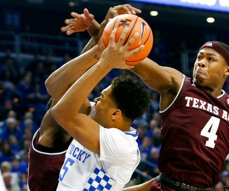Kentucky's Jarred Vanderbilt unlikely to play tournament opener