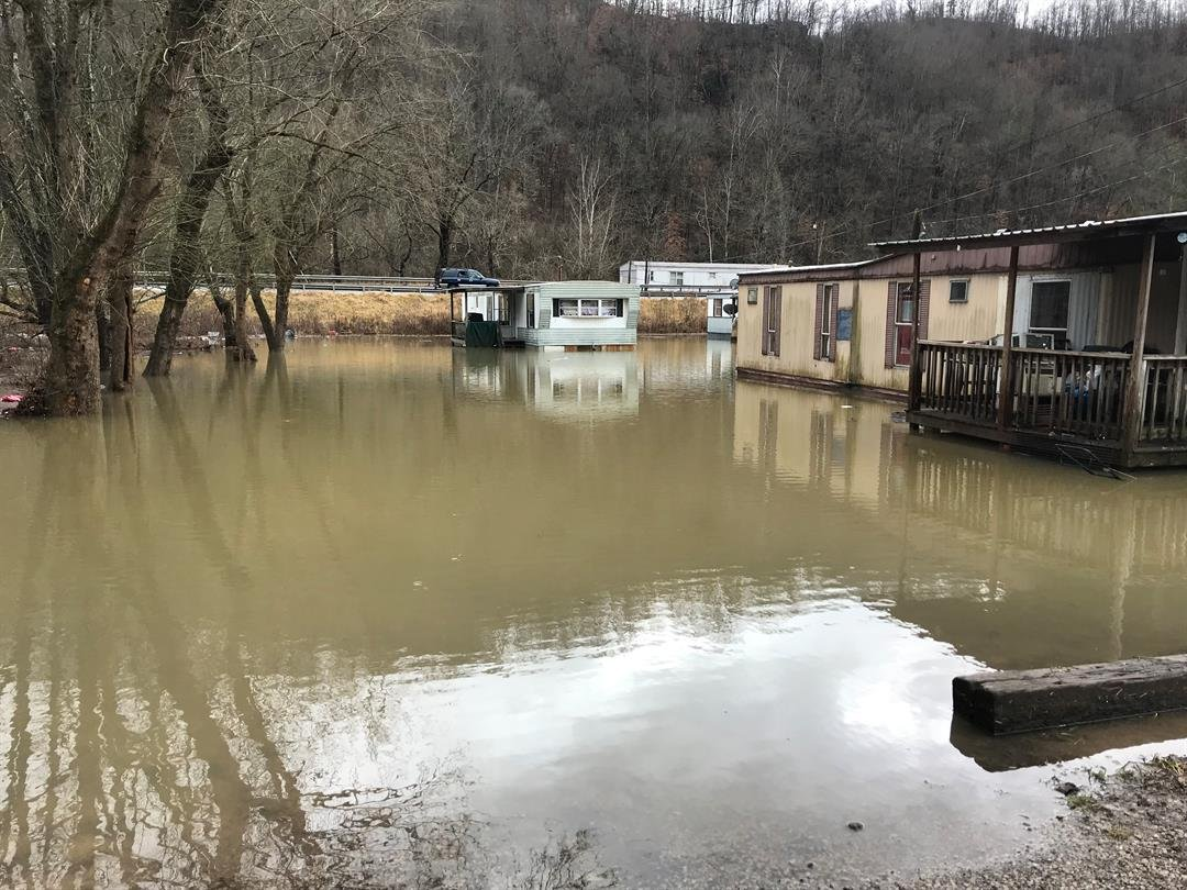 Flooding in Harlan County
